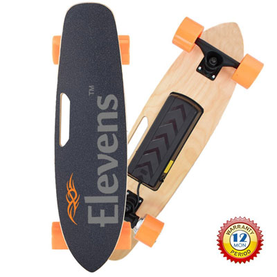 9. Elevens Motor Electric Cruiser Skateboard