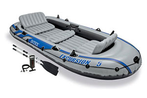 Intex Inflatable Boat Set