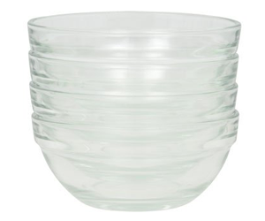 Greenbrier Mini Prep Bowls—4-pack 3.5 inches diameter