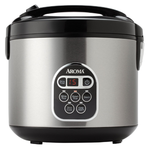 Aroma-Digital Rice Cooker – 20-Cup Capacity