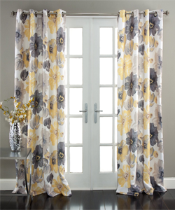 Lush Decor Leah Window Curtain Panel