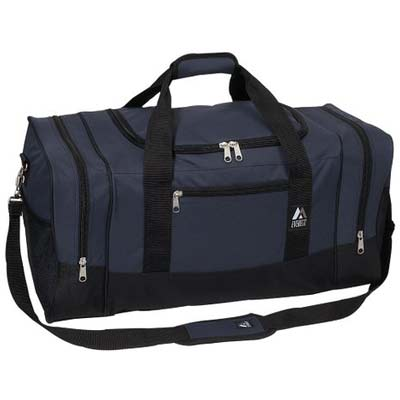 Everest Luggage Sporty Gear Bag Navy Black