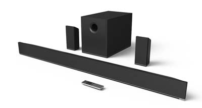 9. VIZIO 5.1 Channel Sound Bar (S5451w-C2)