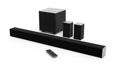 8. VIZIO SB3851-C0 5.1 Channel Sound Bar