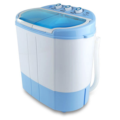 9. Pyle Upgraded Version Portable Washer and Spin Dryer, 11lbs