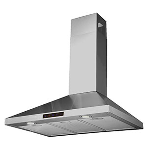 "2. Kitchen Bath Collection 30"" Kitchen Range Hood (STL75-LED)"