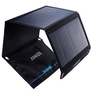 3. Anker 21W Solar Charger