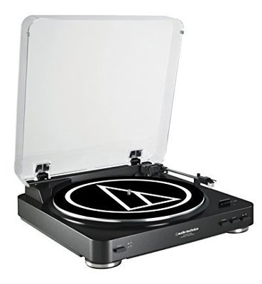 1. Audio-Technica Bluetooth Turntable (AT-LP60BK-BT)