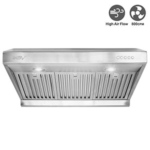 "6. BV 30"" Range Hood with LED Lights"