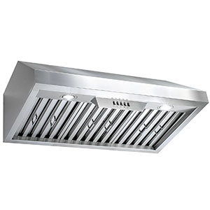 "7. Perfetto Kitchen and Bath 30"" Kitchen Range Hood"