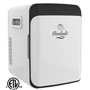 9. Cooluli 10 Liter/12 Can Electric Cooler