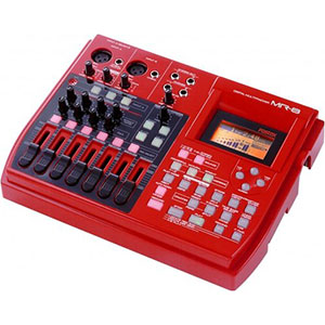 5. Fostex MR8 8-Track Digital Recorder featuring a Built-In FX