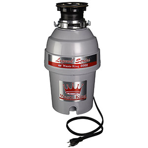 3. Waste King L-8000 Garbage Disposal with Power Cord