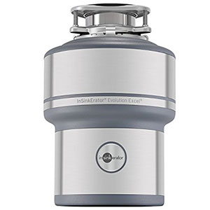 8. InSinkErator Evolution Excel Garbage Disposer