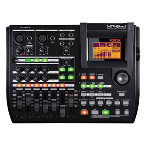 7. Fostex MR8 mkII 8 Track Multitrack Recorder