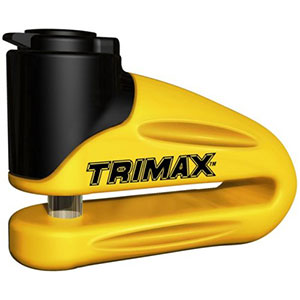 9. Trimax T665LY Hardened Metallic Disc Lock