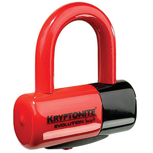 10. Kryptonite Series 4 Disc bike lock