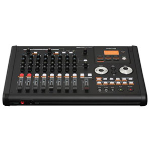 8. Tascam DP-02CF Porta-studio Compact Flash Multitrack Recorder