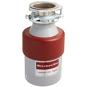 5. KitchenAid KCDB250G 1/2 HP Garbage Disposal