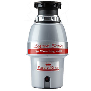 2. Waste King L-2600 Garbage Disposal with Power Cord