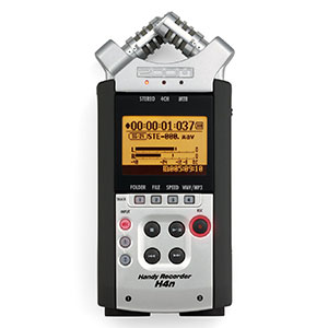 3. Zoom H4N Handy Portable Digital Recorder