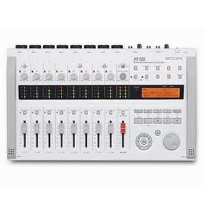 9. Zoom R16 Multitrack SD Recorder Controller and Interface