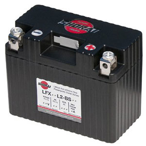 8. Shorai LFX14L2-BS12 Extreme Rate Power sports Battery