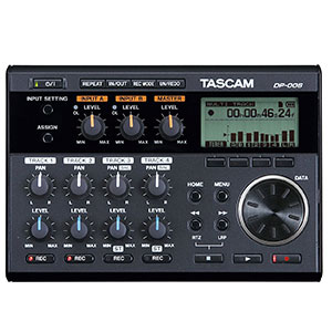 1. Tascam DP-006 Digital Portastudio Multitrack