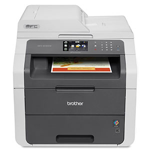 9. Brother Wireless All-in-One Printer (MFC9130CW)