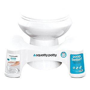 1. Squatty Potty the Original Bathroom Toilet Stool 7 Inch