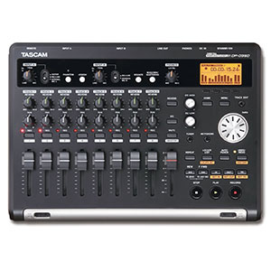 4. Four Tascam DP-03SD Digital Porta-studio Multitrack Recorder