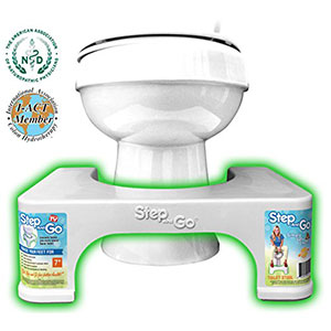 5. Step and Go 7 Inch Squatting Potty Aid