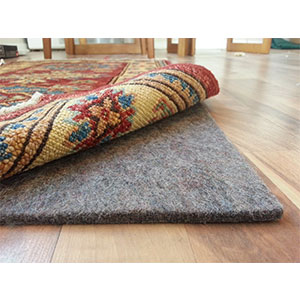 1. Rug Pad Central 8' by 10', 100 percent Felt Rug Pad