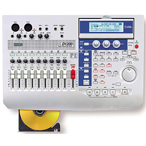 6. Korg D-1200 Digital Audio Multi-Track Recorder