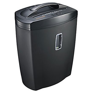 6. Bonsaii DocShred C156-D 12-Sheet Shredder with 5.5 Gallon Wastebasket Capacity