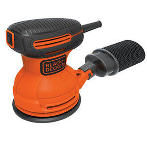 1. Black & Decker 5-inch Random Orbit Sander (BDERO100)