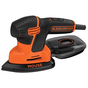 4. BLACK+DECKER Mouse Detail Sander (BDEMS600)