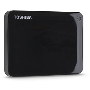 8. Toshiba HDTC810XK3A1Canvio Connect II 1TB Portable Hard Drive