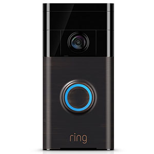 9. Ring Wi-Fi Enabled Video Doorbell