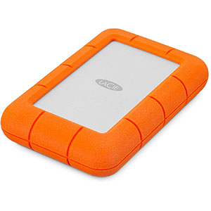 9. La Ice LAC9000633 Rugged Portable Hard Drive