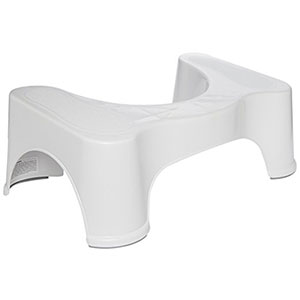 "10. Squatty Potty - Original Bathroom Toilet Stool (7"" and 9"