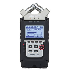 2. Zoom H4N PRO Digital Multitrack Recorder