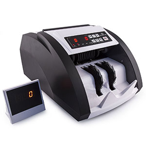 7. TriGear Money Counter Machine Featuring MG/UV and Counterfeit Bill Detection