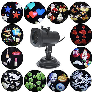 3. BOSSJOY Projector Lights