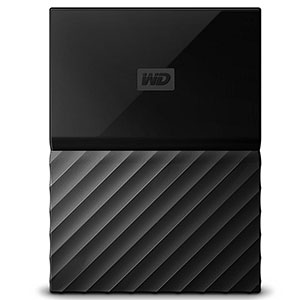 3. WD 4TB Black My Passport Portable External Hard Drive