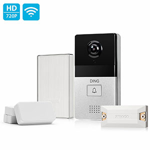 4. Zmodo DING WiFi Enabled Video Doorbell