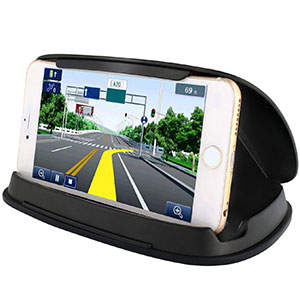 7. Bosynoy Black Car Phone Holder