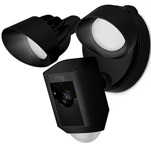 7. Ring Floodlight Camera Motion-Activated HD Security Cam