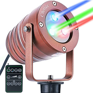 8. Cheriee Laser Christmas Lights Outdoor Projector Light