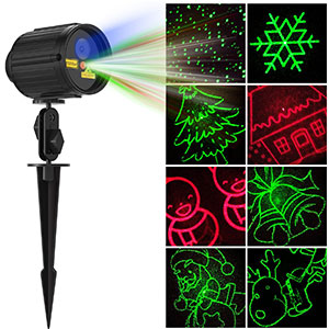 9. Fiery Youth Christmas Projector Lights